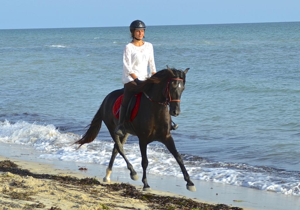Strandritten Tunesië