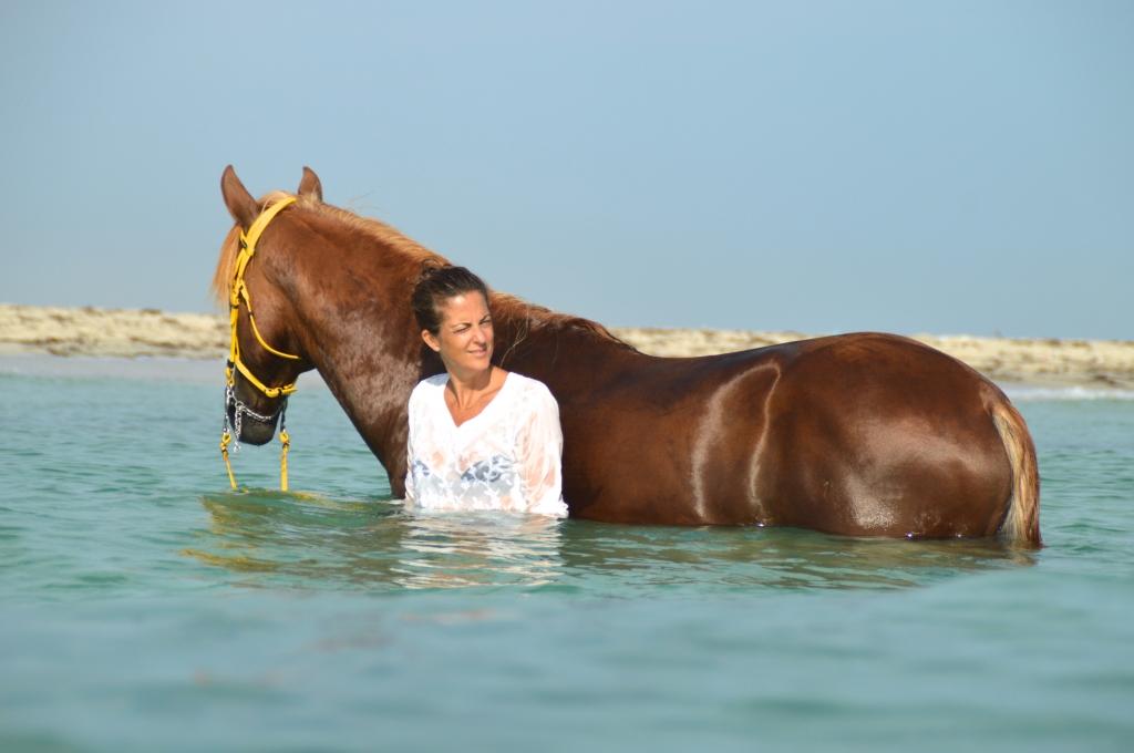 Een Gast met Flavio in de water